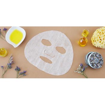 Ökológiailag fenntartható, mosható és újrafelhasználható szövet arcmaszk az impregnáláshoz, (Kozmetikai termék)